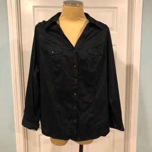 Lane Bryant Blouse in Women's size 18 NWT
